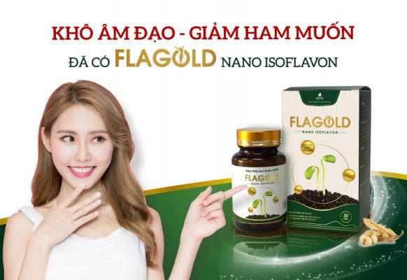 Mầm đậu nành Flagold cho phụ nữ mang thai