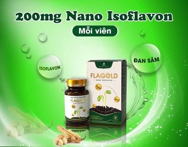 Tác dụng của mầm đậu nành Flagold