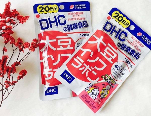 viên mầm đậu nành DHC review