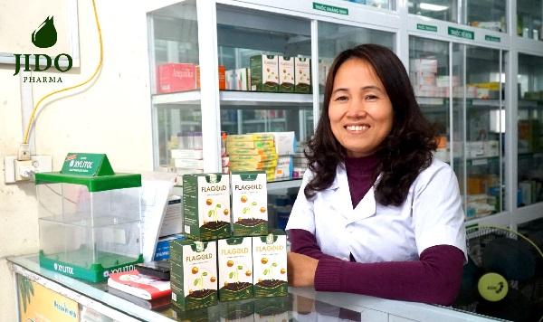 Dược sĩ Kim Oanh chia sẻ về hiệu quả của Nano mầm đậu nành FlaGold