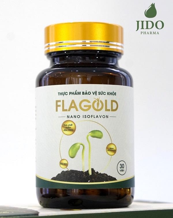 mầm đậu nành dạng viên Flagold