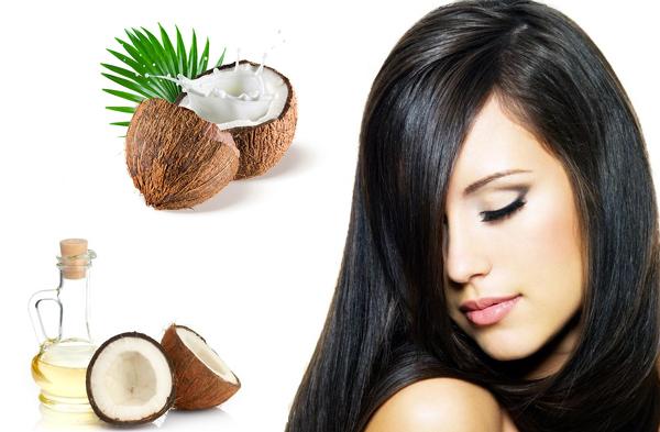 Ngăn rụng tóc với dầu dừa