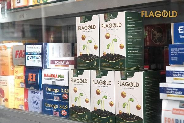 Flagold nhà thuốc, Flagold có mặt tại các nhà thuốc, tiệm thuốc, quầy thuốc