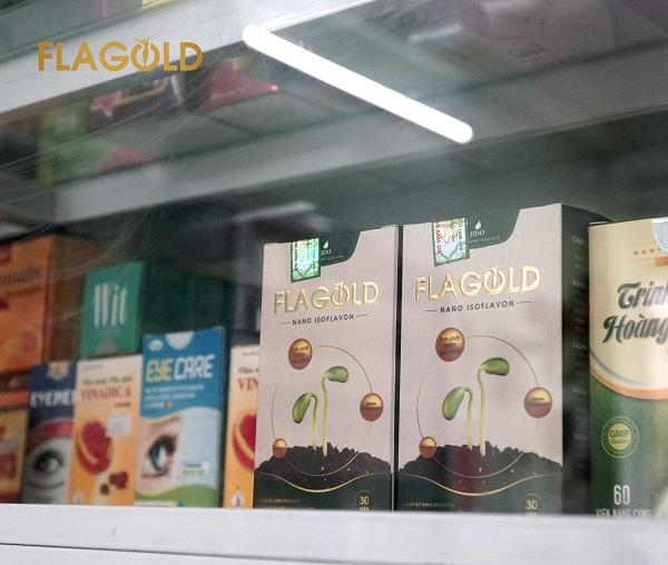 Falgold có mặt tại các nhà thuốc, flagold tiệm thuốc, quầy thuốc