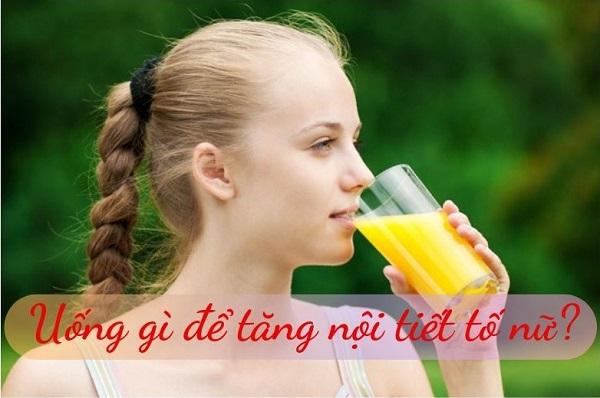 uống gì để tăng nội tiết tố nữ