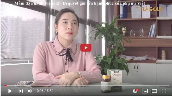 """Chia sẻ về bí quyết """"giữ lửa yêu"""" bằng FlaGold- nano mầm đậu nành của chị Linh"""