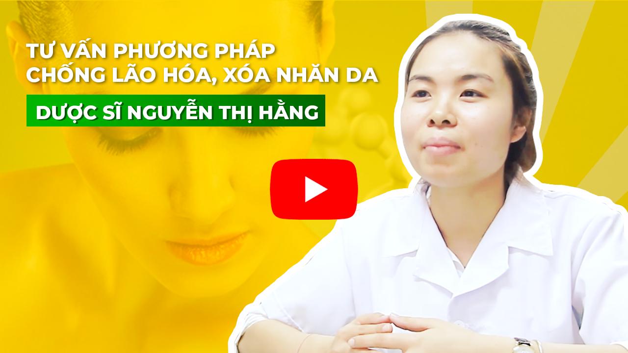 Dược sĩ Nguyễn Thị Hằng nhà thuốc 24h chia sẻ về Nano mầm đậu nành Flagold