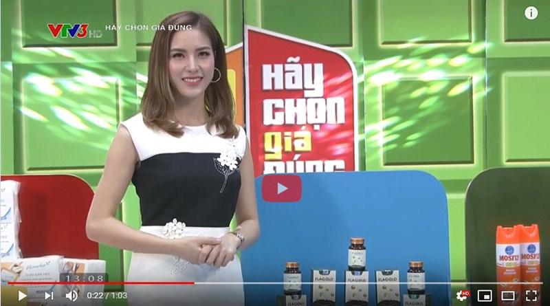 """Nano mầm đậu nành FlaGold xuất hiện trên chương trình """"Hãy chọn giá đúng"""" VTV3"""