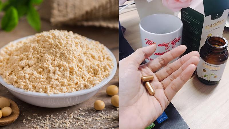 Báo 24h đưa tin: Phân biệt bột mầm đậu nành và Nano mầm đậu nành FlaGold