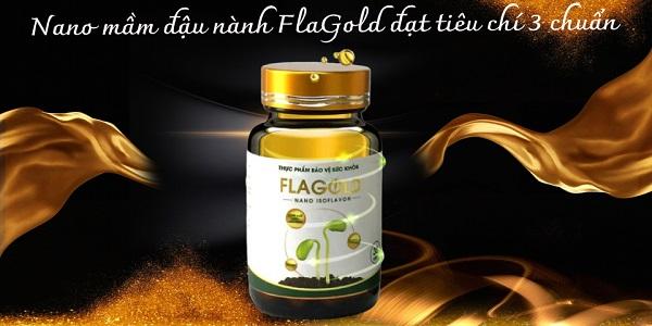 """Nano mầm đậu nành FlaGold: Sản phẩm đầu tiên tại Việt Nam đáp ứng tiêu chí """"3 chuẩn"""""""