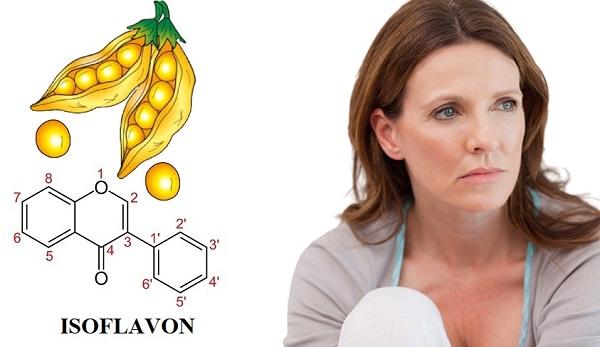 Isoflavone cải thiện triệu chứng mãn kinh cho phụ nữ, isoflavone là gì,
