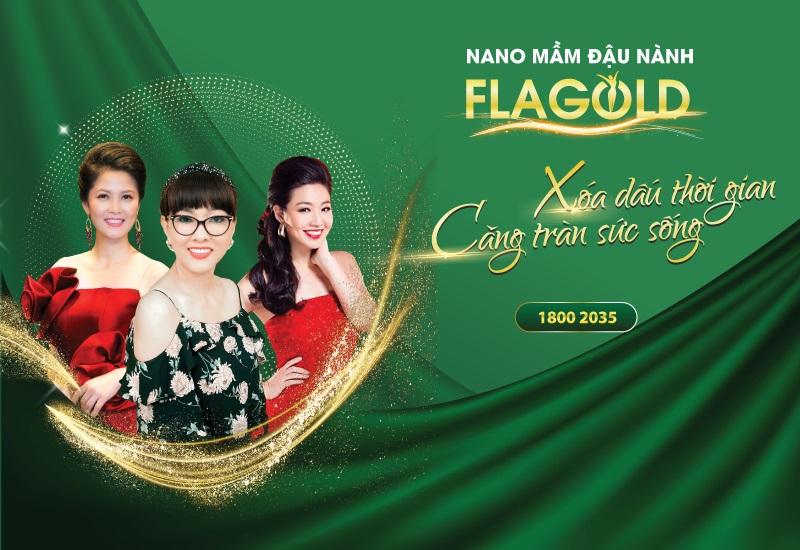 Nano mầm đậu nành FlaGold  – Viên uống bổ sung nội tiết tố nữ được phụ nữ Việt tin dùng