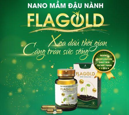 Nano mầm đậu nành FlaGola Bí kíp vàng cho các nàng hồi xuân an toàn, hiệu quả