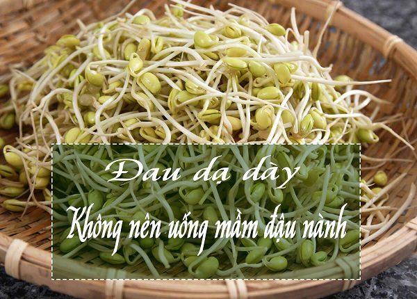 đau dạ dày có uống được mầm đậu nành không, đau dạ dày có nên uống mầm đậu nành, đau dạ dày uống mầm đậu nành được không