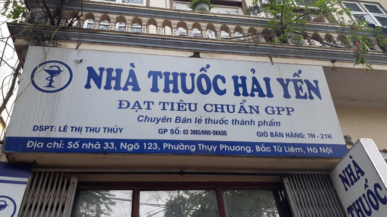Nhà thuốc Hải Yến