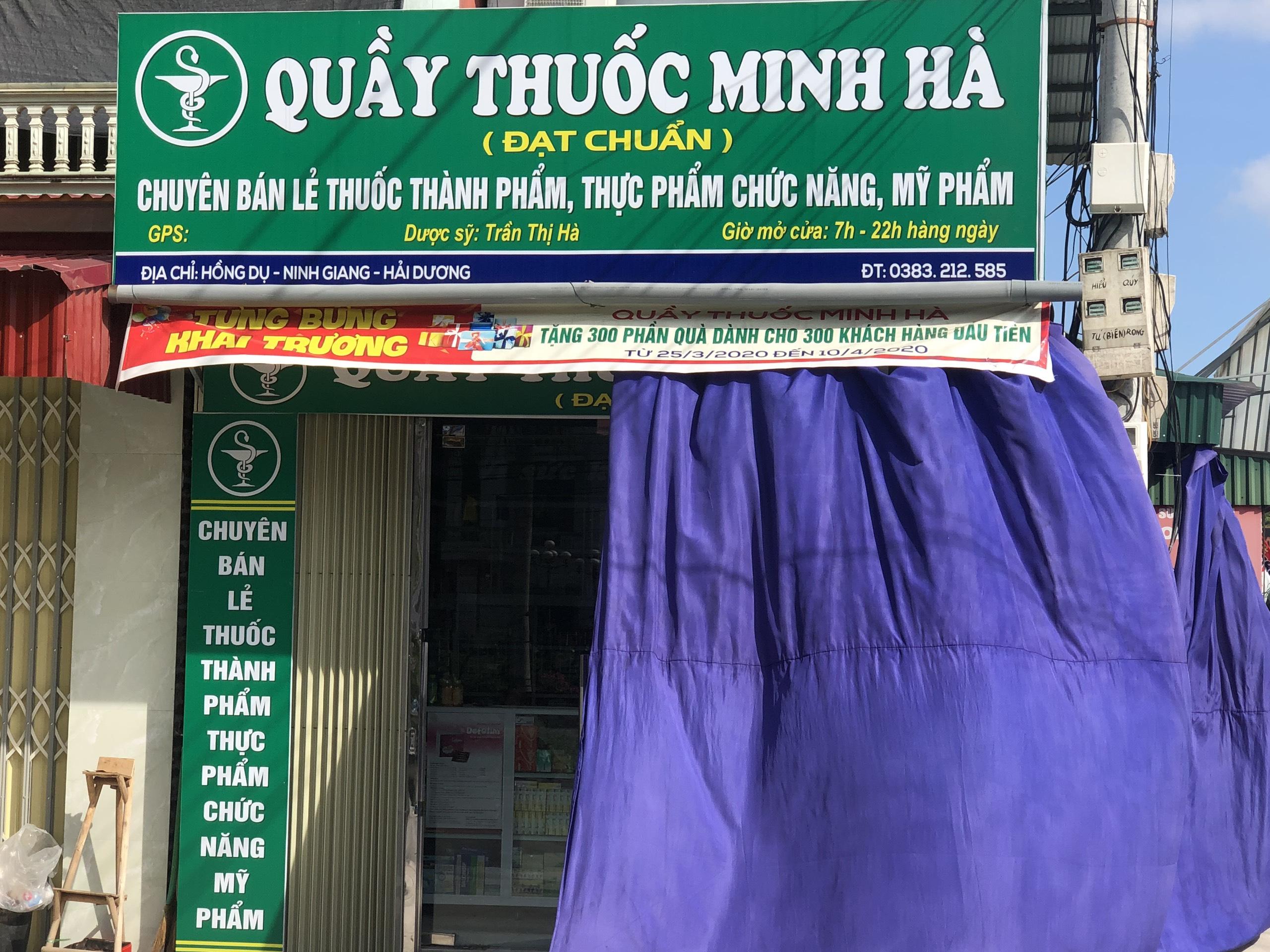 Quầy thuốc Minh Hà