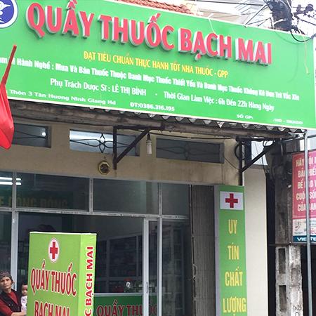 Quầy thuốc Bạch Mai