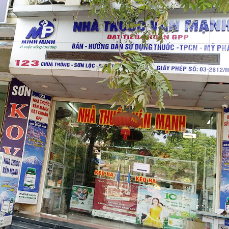 Nhà thuốc Vân Mạnh