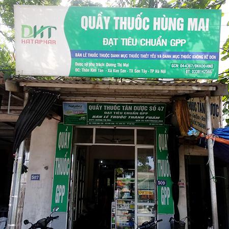 Quầy thuốc Hùng Mai