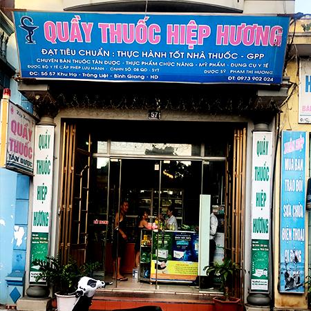 Quầy thuốc Hiệp Hương