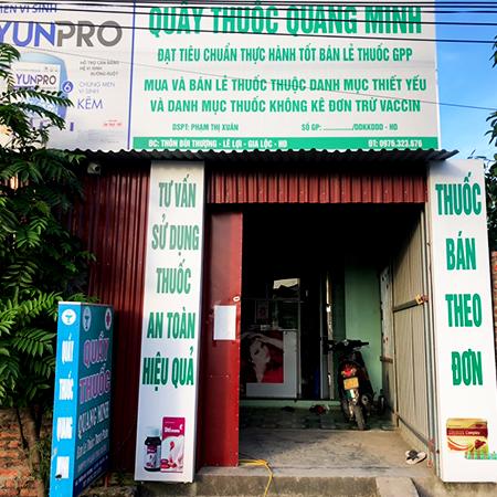 Quầy thuốc Quang Minh