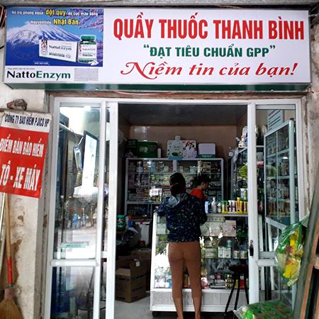 Quầy thuốc Thanh Bình