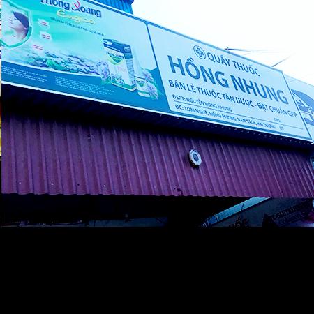 Quầy thuốc Hồng Nhung