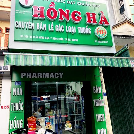 Nhà thuốc Hồng Hà