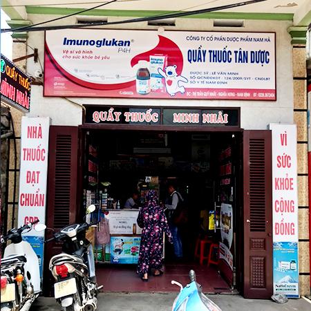 Quầy thuốc Minh Nhài