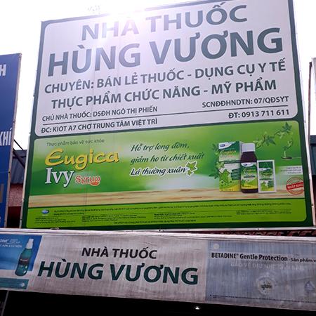 Nhà thuốc Hùng Vương