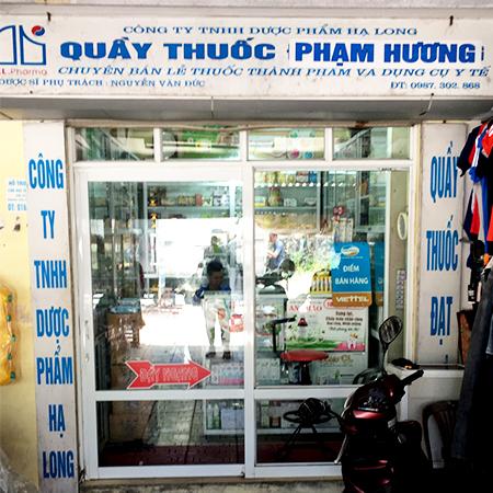 Quầy thuốc Phạm Hương