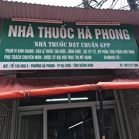 Nhà thuốc Hà Phong