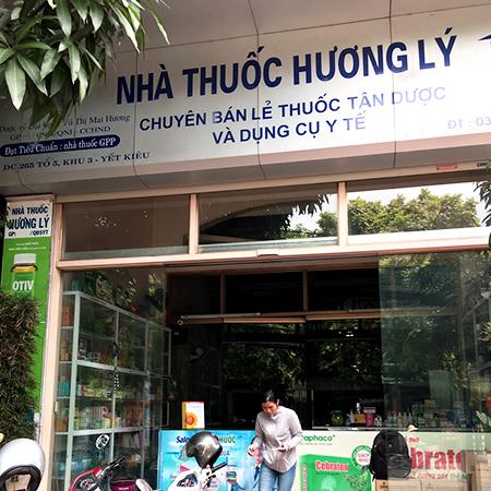 Nhà thuốc Hương Lý
