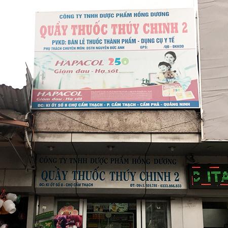 Quầy thuốc Thúy Chinh 2