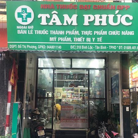 Nhà thuốc Tâm Phúc