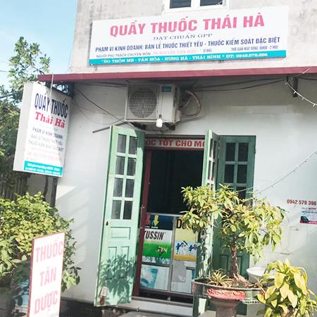 Quầy thuốc Thái Hà