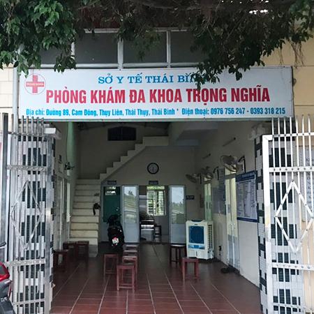 phòng khám đa khoa Trọng Nghĩa