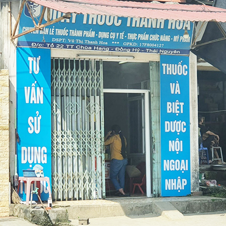Quầy thuốc Thanh Hoa
