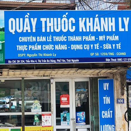 Quầy thuốc Khánh Ly