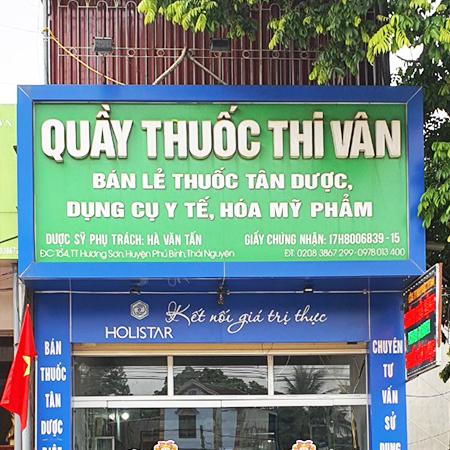 Quầy thuốc Thi Vân