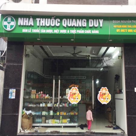 Nhà thuốc Quang Duy
