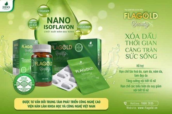 Nano mầm đậu nành FlaGold Beauty được phát triển bởi Viện hàn lâm và công nghệ Việt Nam