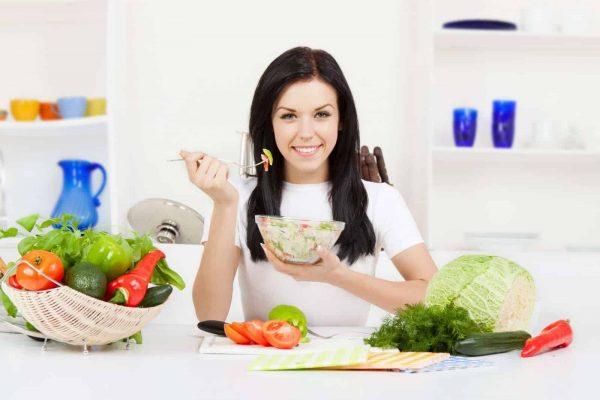 Chế độ ăn nhiều rau xanh giúp làm giảm lão hóa da hiệu quả